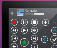 Windows 8 My Media Center Remote