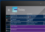 Windows 8 My Media Center Television Guide
