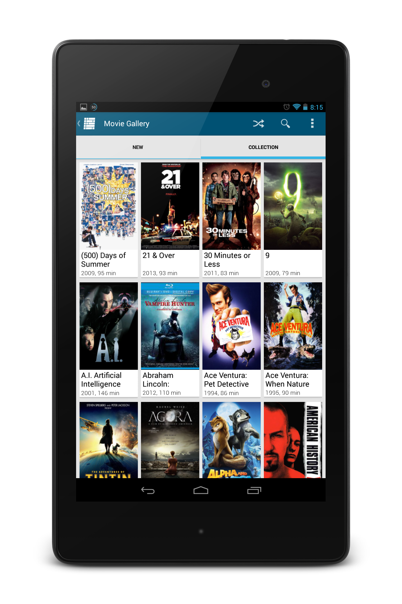 My media center the ultimate windows media center app my media center android movie gallery kristyandbryce Choice Image