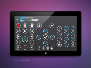 My Media Center Tablet Remote