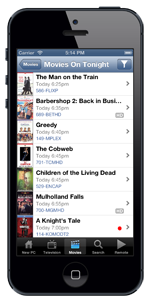 My Media Center - IOS - Movies Tonight